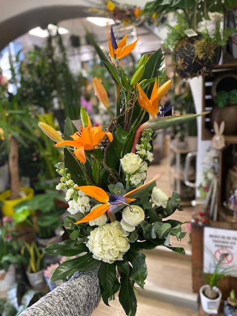 Bouquets en hauteur