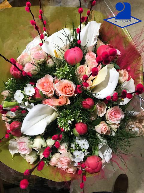 Bouquet du fleuriste